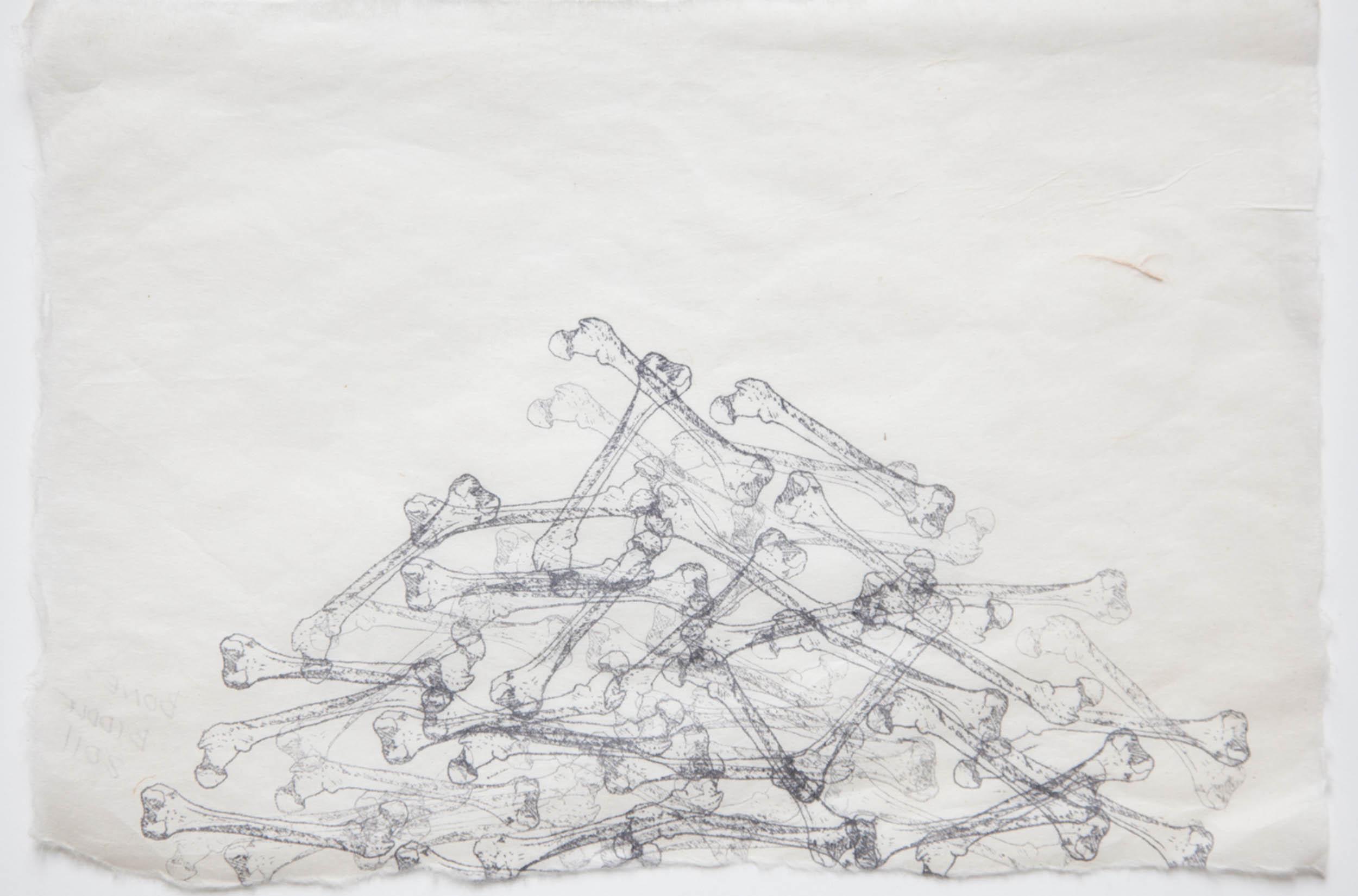 Eve-Biddle-Artworks-Catacombs-Bone-Pile-2013-1